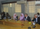 Meeting with minister of communication